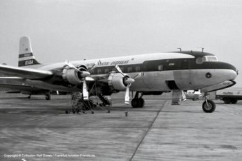 N401US United States Oveseas Airlines Douglas DC-6A (sn 44677 / ln 527)
