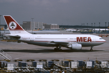 PH-AGE MEA Middle East Airlines Airbus A310-203 (MSN 283)