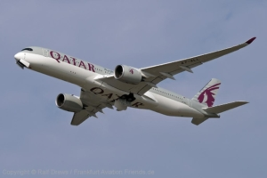A7-ALL Qatar Airways Airbus A350-941 (MSN 036)