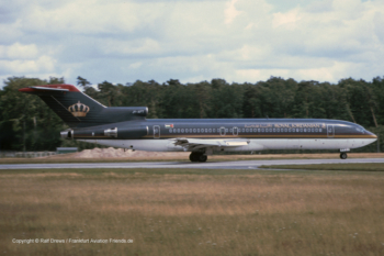 "JY-AFT Royal Jordanian Boeing 727-2D3 (s/n 22268 / ln 1641)  ""City of Irbid"""