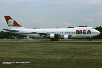 OD-AGH MEA Middle East Airlines Boeing 747-2B4B (sn 21097 / ln 262)