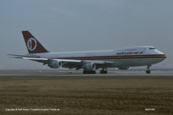 9M-MHI Malaysia Airlines Boeing 747-236B (sn 22304 / ln 502)