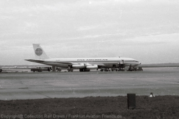 N703PA Pan American World Airways Boeing 707-331 (ln 89) FRA 1960